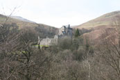 Castle Campbell in Dollar Glen, Dollar, Clackmannanshire, Scotland