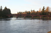 Kinclaven Bridge over the River Tay, Perthshire, Scotland