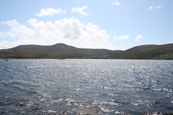 Loch an t-Slagain on Inverasdale Estate, Wester Ross, Scotland