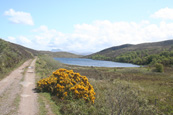 Loch na h-Innse Gairbhe on Inverasdale Estate,  Wester Ross, Scotland