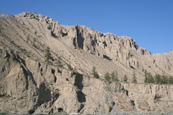 Farwell Canyon near to Williams Lake, British Columbia, Canada