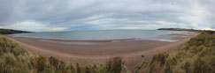 Lunan Bay in Angus, Scotland