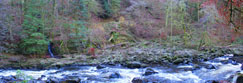 The River Braan, Perthshire, Scotland