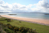 The beach at Redpoint South near to Badachro, Wester Ross, Scotland