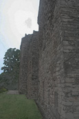 The south wall of Huntingtower Castle at Huntingtower, near  Perth Perthshire, Scotland