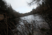 The River Findhorn at Altyre Estate near to Forres, Morayshire, Scotland