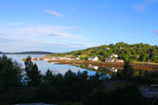 The Harbour at Charlestown, Gairloch, (taken the morning after its neighbour!) Wester Ross, Scotland