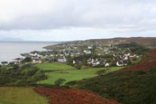 A view of the Wester Ross village of Gairloch, Wester Ross, Scotland