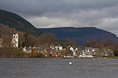 The village of Kenmore on the shores of Loch Tay, Perthshire, Scotland