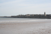 St Andrews - The Home Of Golf- taken from The West Sands at St Andrews, The Kingdom of Fife, Scotland