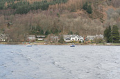 The Village of St. Fillans on Loch Earn, Perthshire, Scotland
